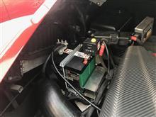 アルファロメオ4C 車検&リチウムバッテリーに換装