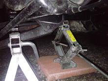 軽トラックのタイヤ交換