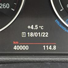 キリ番40,000km