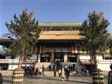 成田山新勝寺に初詣。