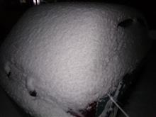 雪だるマーチ。