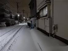 大雪になっちゃいましたね^^;