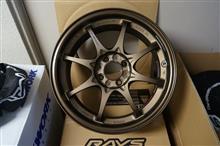 今日のホイール RAYS Volk Racing CE28N(レイズ ボルクレーシング CE28N) -ホンダ シビック用-