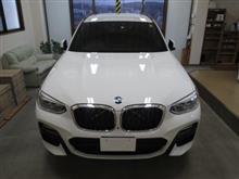 BMW X3(3代目)G01型、採寸&装着確認(完成)