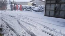 全力で除雪作業ww