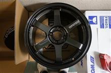 今日のホイール RAYS Volk Racing TE37 Sonic(レイズ ボルクレーシング TE37 ソニック) -スズキ スペーシア用-
