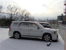 また雪の朝