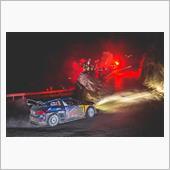 雪の罠・・・ WRCドライバ ...