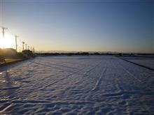 サイータマの残雪