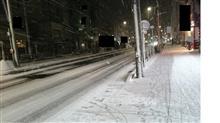 名古屋積雪4日間