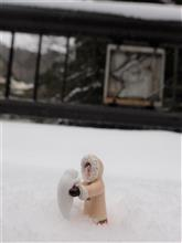 雪の温泉と一宮の夜(H30/01/27)