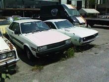 信州の旧車ヤード訪問