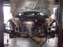BMW  ABA-ME14 R56 ミニ オ^バーヒート エンジン載せ替え