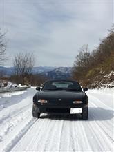 2018雪道ドライブ2