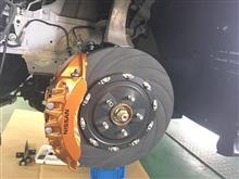GTR ブレーキローター交換!!