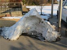 大雪から1週間