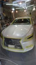 NOJ岡山倉敷 新車5年目 レクサスLS600h 走行2万キロの極上車  NOJセラミックコーティング施工