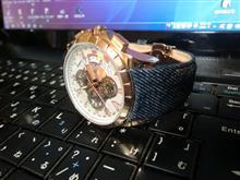 腕時計新調