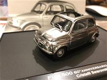 【FIAT500 60周年記念もの】