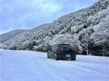 ふわふわの雪道ドライブ