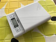 TANITA デジタルクッキングスケール KD-180 開封の儀(とおしるこ)