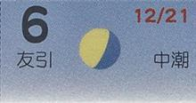 月暦 2月6日(火)