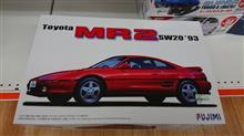 MR2のプラモデル