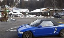 雪のドライブ