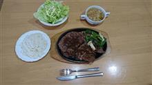 平日休み限定の昼ステーキ!