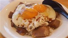 松山で念願の焼豚玉子飯😋🍴💕