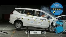 ASEAN NCAP - Mitsubishi Xpander Scored 4-Star ・・・・