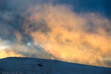 2月始めの霧ヶ峰