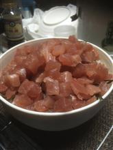 新東名上り駿河湾沼津SAにて特盛りマグロ丼