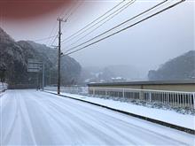 最強寒波の大雪で足止め。