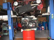 赤足号 エンジン換装完了