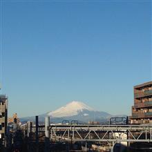 今日の富士山。18,2,7
