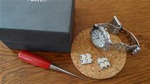 腕時計のコマ調整【家】