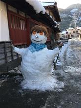 Snowman変身❗️