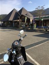 残雪の神山へ