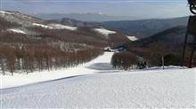 今日もスキー