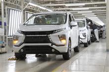 ミツビシ ・ モーターズ ・ クラマ ・ ユダ ・ インドネシア ( MMKI ) メディア向け に ミツビシ エクスパンダー の 生産工程 を 公開 ・・・・