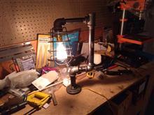 作業部屋のデスクトップライト製作