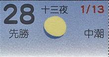 月暦 2月28日(水)