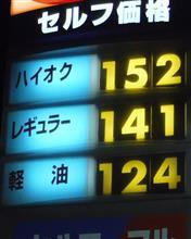 ガソリン価格は?