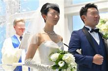 愛車で娘の結婚式に行きました(^^)