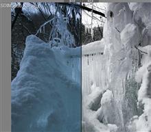 氷の世界を再現す。