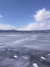 御神渡り 諏訪湖