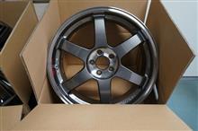 今日のホイール RAYS Volk Racing TE37SL(レイズ ボルクレーシング TE37SL) -トヨタ 50プリウス用-
