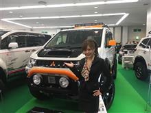 大阪オートメッセ 最終日〜