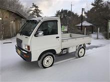 葛城山 大阪南部初雪